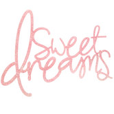 Sweet Dreams Wood Wall Decor